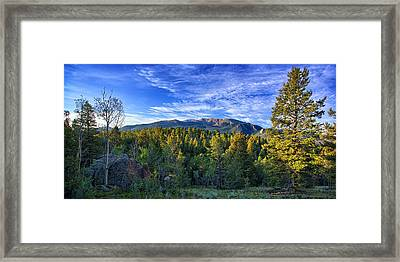 Distant Giant Framed Print by Thomas Zimmerman