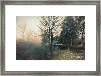 Distant Light Framed Print by Jutta Maria Pusl