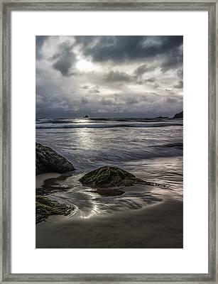 Distant Lighthouse II Framed Print by Jon Glaser