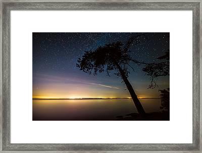 Distant Lights Framed Print by James Wheeler