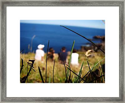Framed Print featuring the photograph Distant Memories by Zinvolle Art