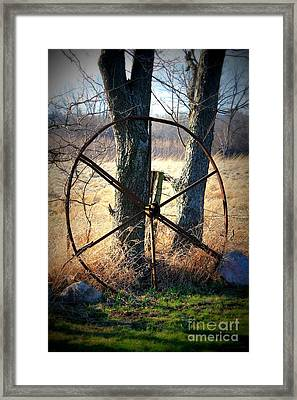 Distant Past Framed Print by Christie Minalga
