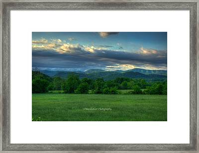 Distant Range Framed Print by Paul Herrmann