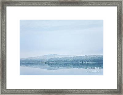 Distant Shore Framed Print by Susan Cole Kelly Impressions