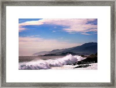 Distant Shores Framed Print by Polly Peacock