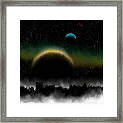 Distant Skys Framed Print