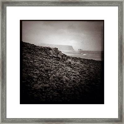 Distant Stacks Framed Print by Dave Bowman