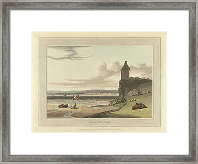 Distant View Of Ayr Framed Print by British Library