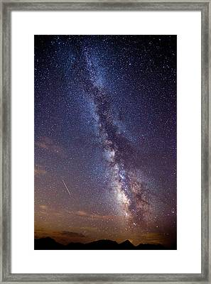 Distant Visitors Framed Print by Darren  White