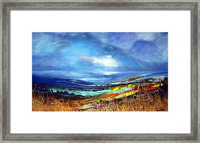 Distant Vista Framed Print