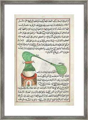 Distillation Framed Print by British Library