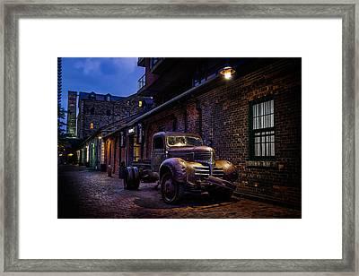 Distillery District Toronto Framed Print