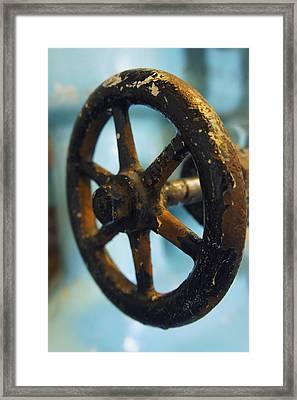 Distillery Tools Framed Print