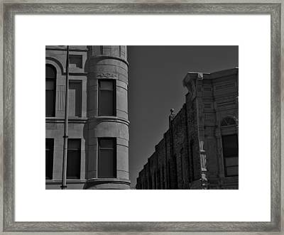 Distinction Framed Print