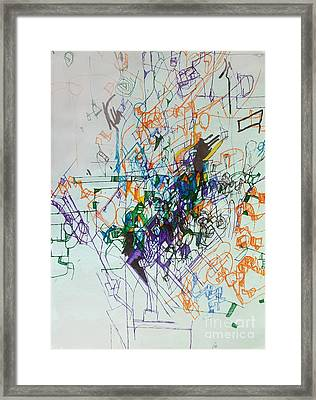 Distinguishing Pain From Problem 1 Framed Print