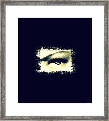 Distorted Vision  Framed Print by Frances Lewis