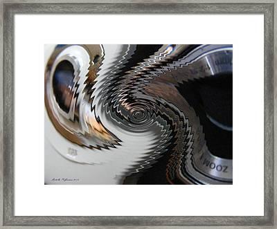 Distorted Framed Print