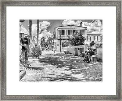 Framed Print featuring the photograph Distraction by Howard Salmon