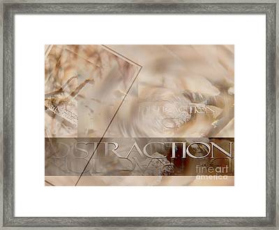 Framed Print featuring the photograph Distraction by Vicki Ferrari