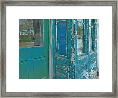 Distressed In Other Respects Framed Print