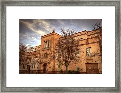 District Attorney Framed Print