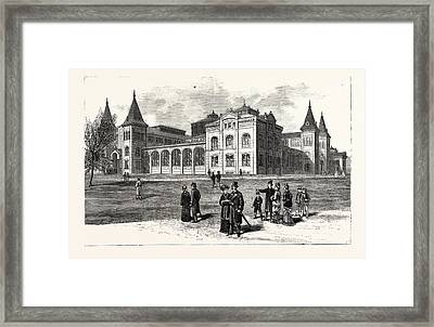 District Of Columbia The New Building Of The National Framed Print by American School