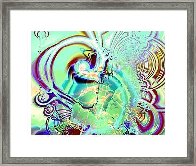 Disturbance Framed Print
