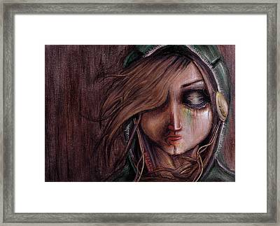 Disturbance Of The Pain-sensitive Structures In My Head Framed Print by Rouble Rust
