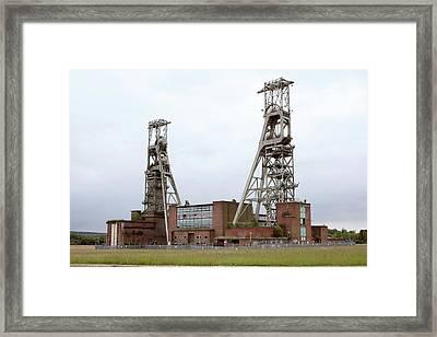 Disused Coal Mine Framed Print