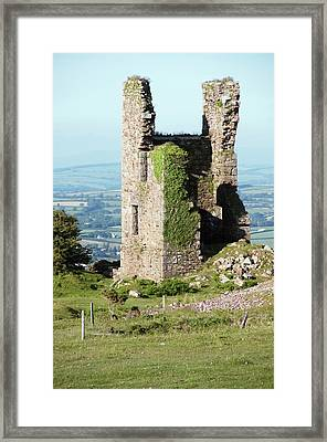 Disused Copper Mine Engine House Framed Print