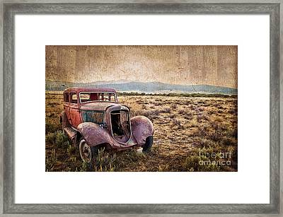 Disused Framed Print by Delphimages Photo Creations