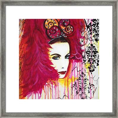Diva Annie Lennox Framed Print by Julie Janney