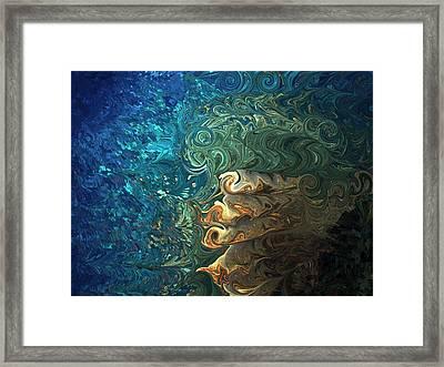 Dive Of Fireman's Framed Print