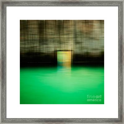 Dive Right In  Framed Print