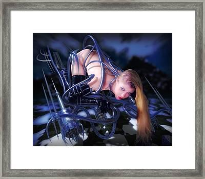 Dive Framed Print by Tsubasa Art
