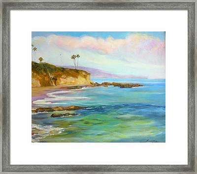 Divers Cove Framed Print by Renuka Pillai