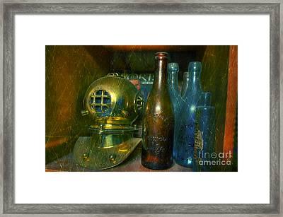 Diver's Treasure Framed Print