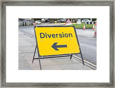 Diversion Framed Print