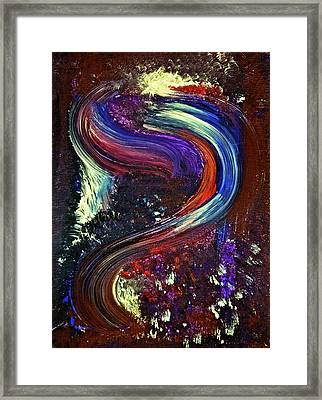 Framed Print featuring the painting Diversion by Tracey Myers