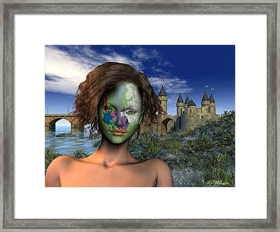 Diversity - Europe Framed Print by Williem McWhorter