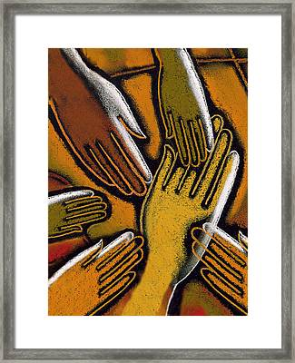Diversity Framed Print by Leon Zernitsky