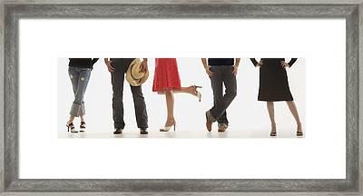 Diversity Of Style Framed Print by Darren Greenwood