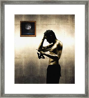 Divide Et Pati - Divide And Suffer Framed Print