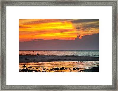 Divided Thoughts Framed Print by Carl Jacobs