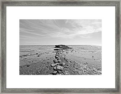 Divided Waters Framed Print by Ty Helbach