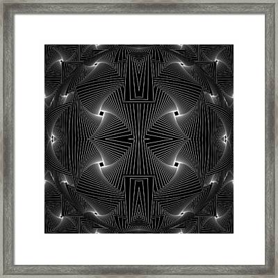 Dividing Facts - 7 Framed Print by Sir Josef - Social Critic -  Maha Art