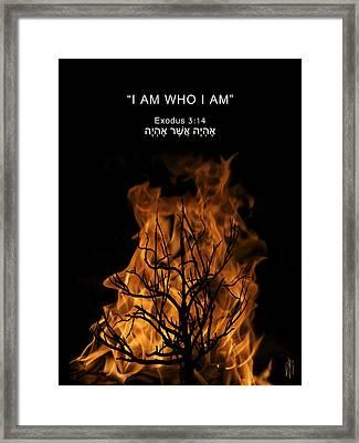 Divine Anonymity Framed Print