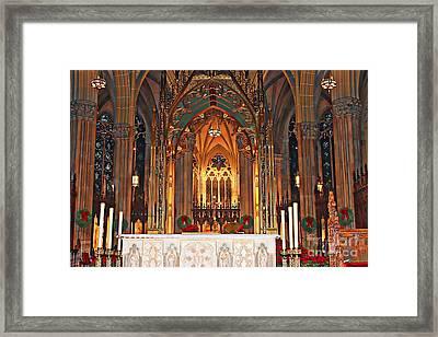 Divine Arches   Framed Print