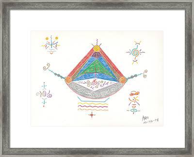Divine Balance Framed Print