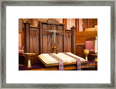 Framed Print featuring the photograph Divine Beauty by Lawrence Burry